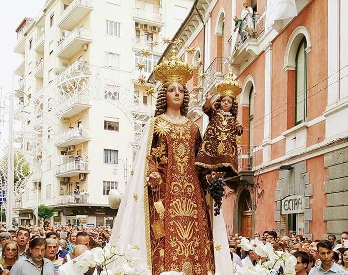 Occhi Su Salerno Madonna Del Carmine A Salerno Niente Festa E Processione Per L Emergenza Covid